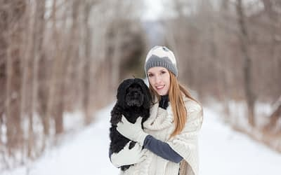 The Pet Photographer Becomes the Photographed / Owen Sound & Collingwood Pet & Equine Photographer