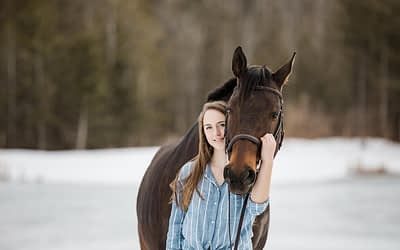 Equine Photography Session at Hollow Hills Equestrian Centre / Owen Sound Equine Photographer