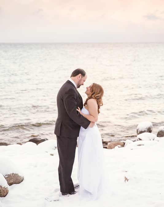Adienne and Rick's Wedding / Wedding Photography by Candra Schank Photography