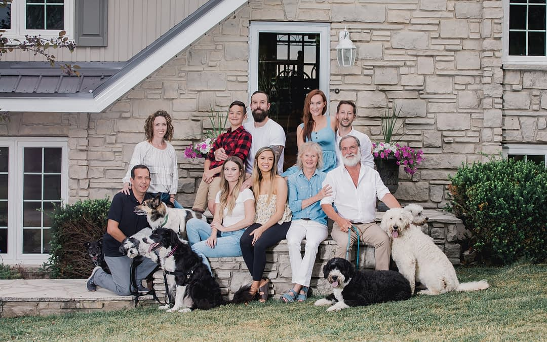 Family and Pet Photo Session
